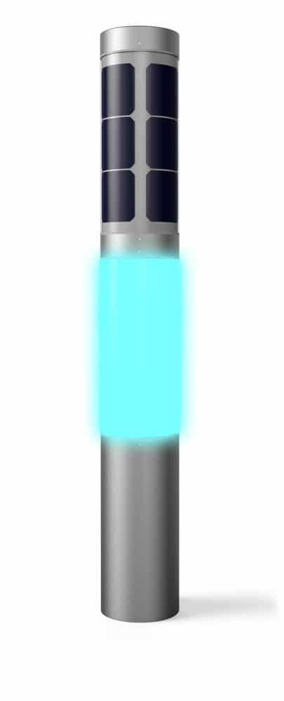 solar outdoor lighting - NxT solar garden lamp terrain light