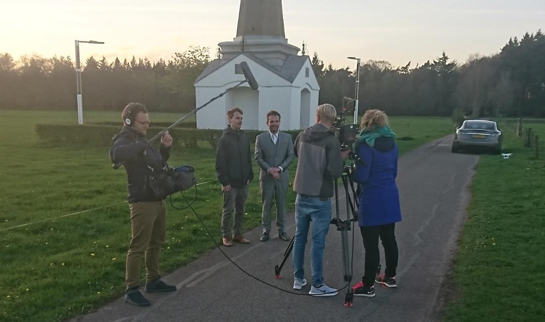 Groenlicht recording Soluxio Solar lichtmast - Rheden The Netherlands